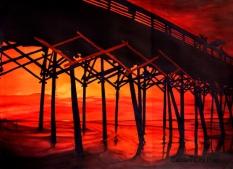 Sunrise, Garden City Pier